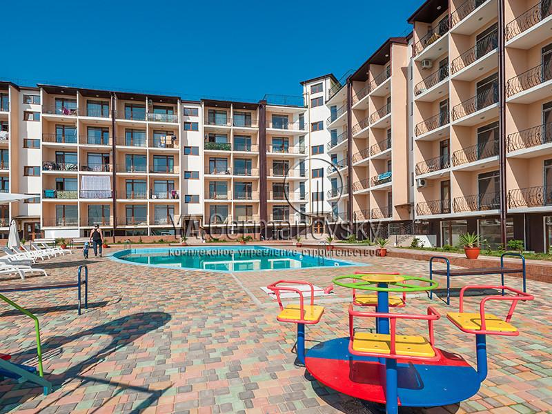 Строительство жилого комплекса в Севастополе